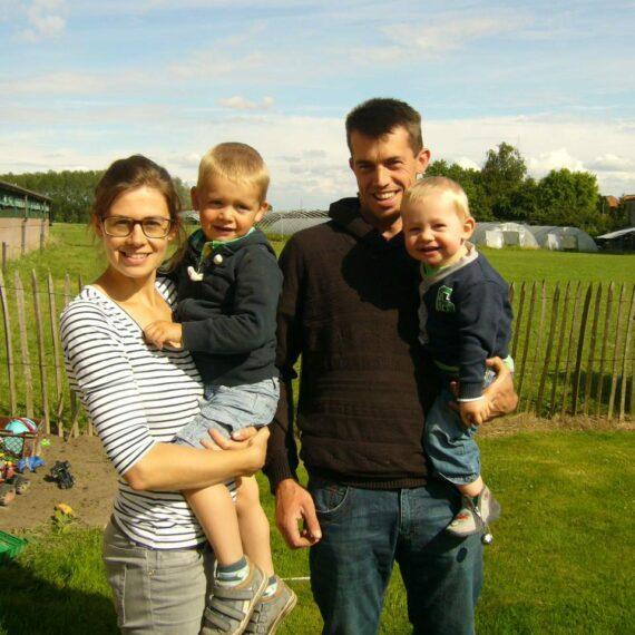Foto familie Hebbrecht producent