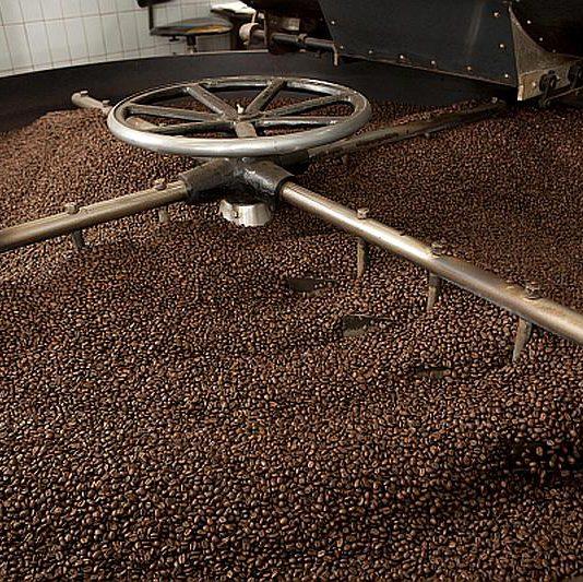 Foto koffies De Draak producent