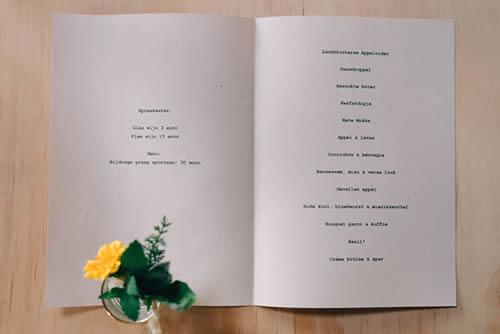 |compilatie foto's de keukentafel