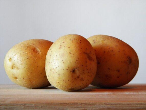 Foto aardappelen